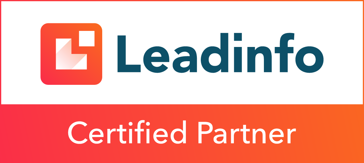 Partner badge - Factrics is Leadinfo partner!